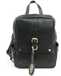Born - Savor Leather Backpack - Lyst