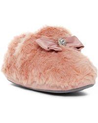 Pretty You London - Vanna Faux Fur Bootie - Lyst