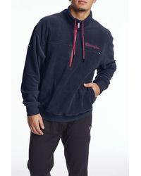 Champion Explorer Fleece Quarter Zip Jacket - Blue