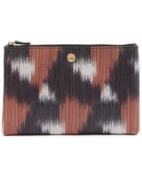 Lodis - Flat Leather Pouch - Lyst