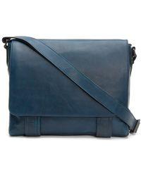 Frye - Leather Logan Messenger Bag - Lyst