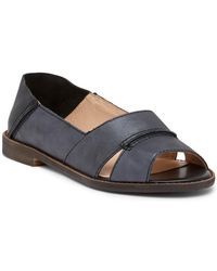 Kelsi Dagger Brooklyn - Samantha Collapsible Leather Flat - Lyst