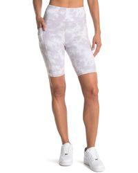 Threads For Thought Alma Tonal Wash Bike Shorts - Gray