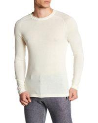 Parke & Ronen - Elbow Patch Long Sleeve Sweater - Lyst