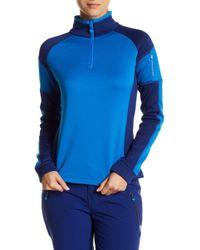 Obermeyer - Fleece Colorblock Zip Pullover - Lyst