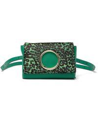 Vince Camuto Kimi Genuine Calf Hair Belt Bag - Green