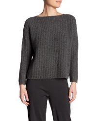 Vince   Ladder Stitch Cashmere Blend Sweater   Lyst