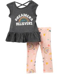 Jessica Simpson - Day Trippers Top & Leggings Set (baby Girls) - Lyst