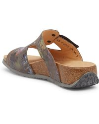Think! - 'mizzi With Face' Sandal - Lyst