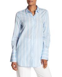 Equipment - Arlette Striped Button Down Shirt - Lyst
