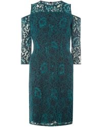 Dorothy Perkins - Cordered Lace Pencil Dress - Lyst