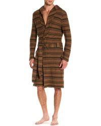 Ugg | M Miles Stripe Robe | Lyst