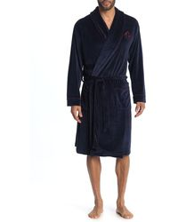 Ted Baker Velour Robe - Blue