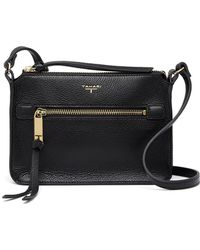 T Tahari - Lena Leather Crossbody Bag - Lyst