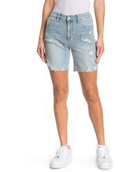Joe's Jeans Bermuda Shorts - Blue