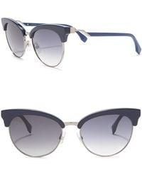 e908e89bb02 Lyst - Fendi Ff1005 Edj Havana Cat-eye Eyeglasses in Brown