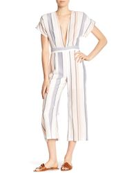 On The Road - Kathy Striped Jumpsuit - Lyst