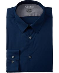 CALVIN KLEIN 205W39NYC - South Beach Solid Extreme Slim Fit Dress Shirt - Lyst