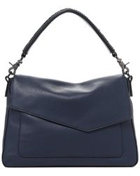 Botkier Cobble Hill Slouch Leather Hobo - Blue