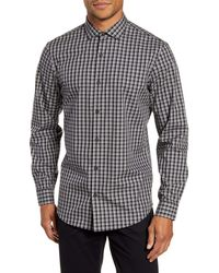 Calibrate - Modern Fit Check Non-iron Button-up Shirt - Lyst