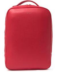 Matt & Nat Alex Loom Vegan Leather Backpack - Red