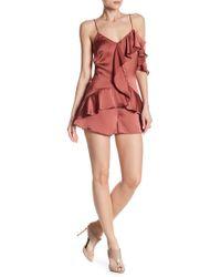 Dress Forum - Asymmetrical Ruffle Romper - Lyst
