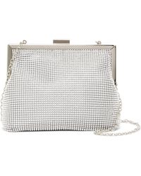 Jessica Mcclintock | Becky Ball Chain Framed Clutch | Lyst
