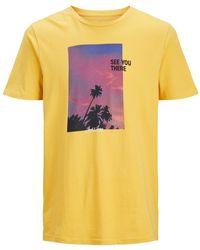 Jack & Jones - Huward Crew Neck Graphic T-shirt - Lyst