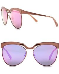 MCM - Women's Clubmaster 58mm Metal Frame Sunglasses - Lyst