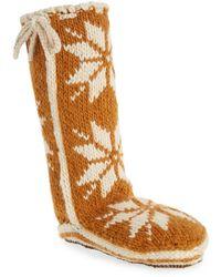 Woolrich 'chalet' Socks - Brown