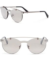 Z Zegna - 56mm Rimless Browbar Sunglasses - Lyst