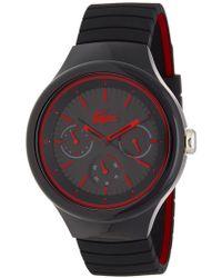 Lacoste - Men's New Borneo Silicone Watch - Lyst