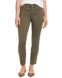 NYDJ | Ami Colored Stretch Skinny Jeans | Lyst