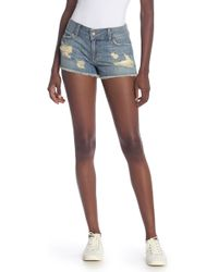 Siwy Cassy Distressed Shorts