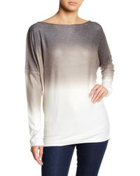 Go Couture - Ombre Dolman Sleeve Sweater - Lyst