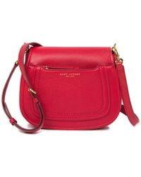 dd6fbe156978 Marc Jacobs - Empire City Mini Messenger Leather Crossbody Bag - Lyst