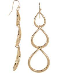 Trina Turk - Triple Teardrop Earrings - Lyst