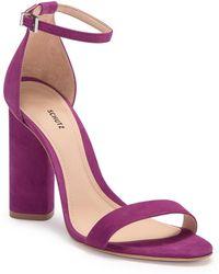 14d7c2782fd7 Schutz - Jeannine Ankle Strap Sandal - Lyst