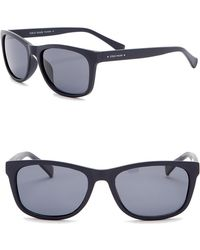 Cole Haan - Polarized 55mm Rectangle Sunglasses - Lyst