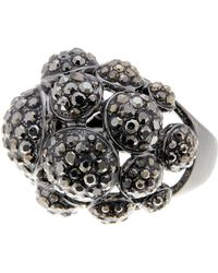 Ariella Collection | Circular Pave Ring | Lyst
