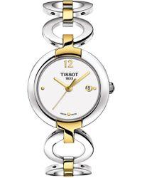 Tissot Women's Pinky Two-tone Bracelet Watch, 27.95mm - Metallic