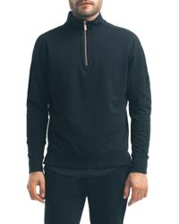 Good Man Brand - Slim Pro Quarter Zip Pullover - Lyst