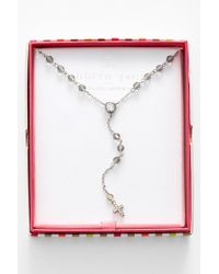 Judith Jack - Inspire Me Boxed Cross Pendant Y-necklace - Lyst