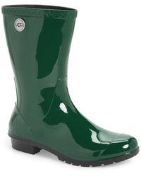 ed13f472897 UGG Sienna Rain Boot in Yellow - Lyst