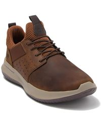 Skechers - Delson Axton Leather Sneaker - Lyst