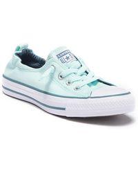 6fe2932419bf32 Converse - Chuck Taylor All Star Shoreline Slip-on Sneaker (women) - Lyst