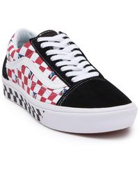Vans Comfycush Old Skool Dimension Check Lace-up Sneaker - Multicolor