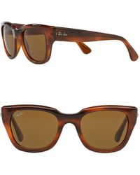 Ray-Ban 52mm Wayfarer Sunglasses - Brown