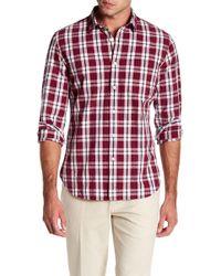 J.Crew | Emerson Slub Cotton Slim Fit Check Shirt | Lyst