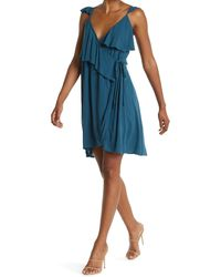 O'neill Sportswear Margie Wrap Dress - Blue